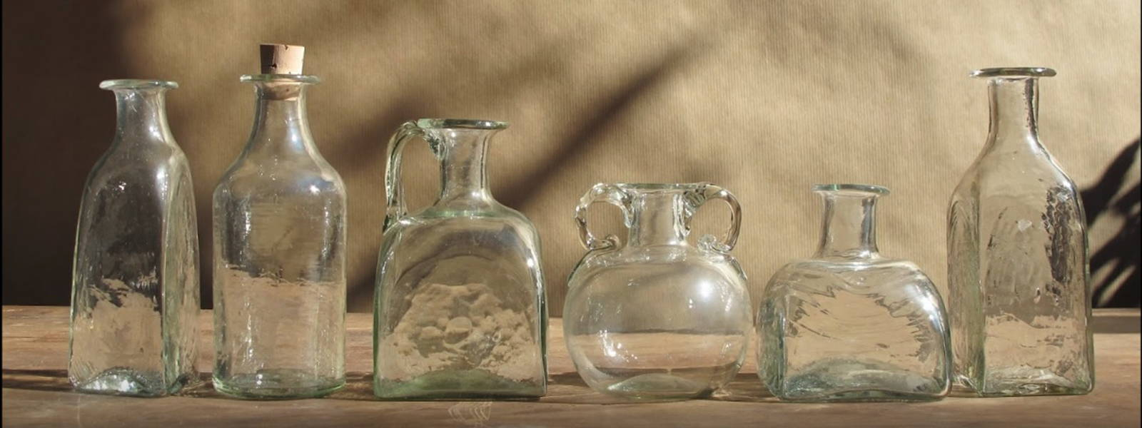 La Soufflerie Glass Vases display