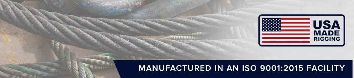 Heavy Duty Wire Rope Slings and Sling Rope laying down