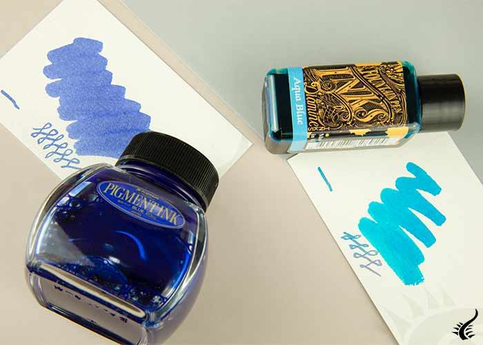 inkwell blue ink
