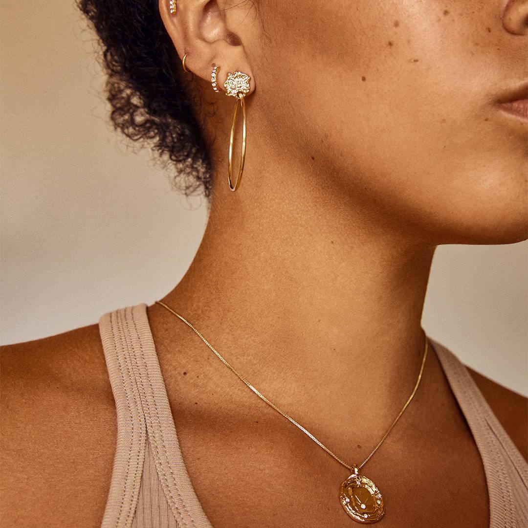Get your golden earrings
