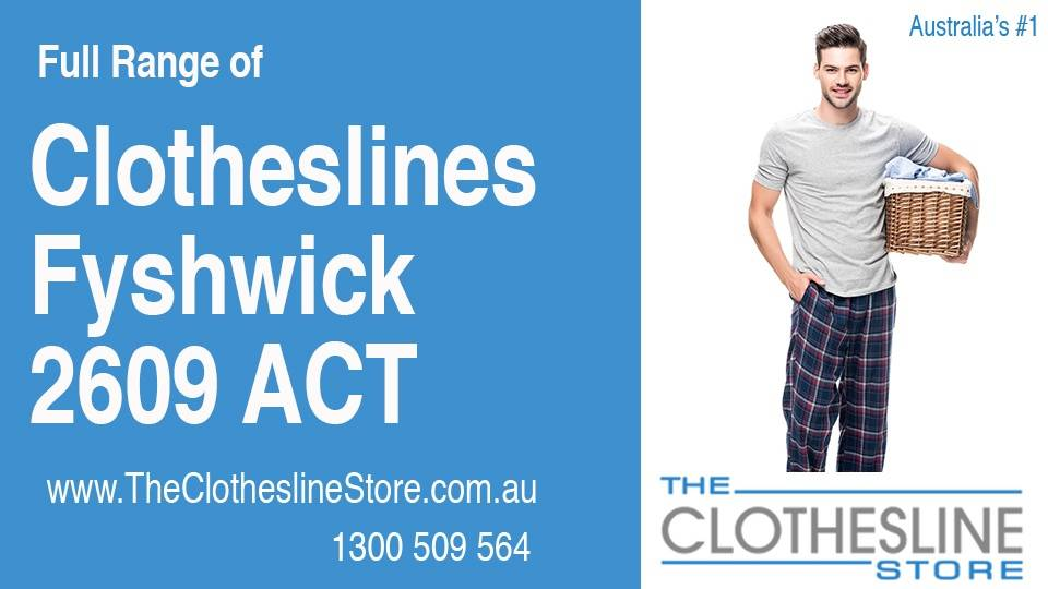 New Clotheslines in Fyshwick ACT 2609