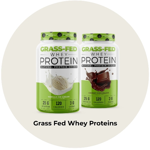grass fed whey proteins