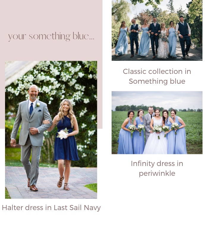 blue bridesmaid dresses canada