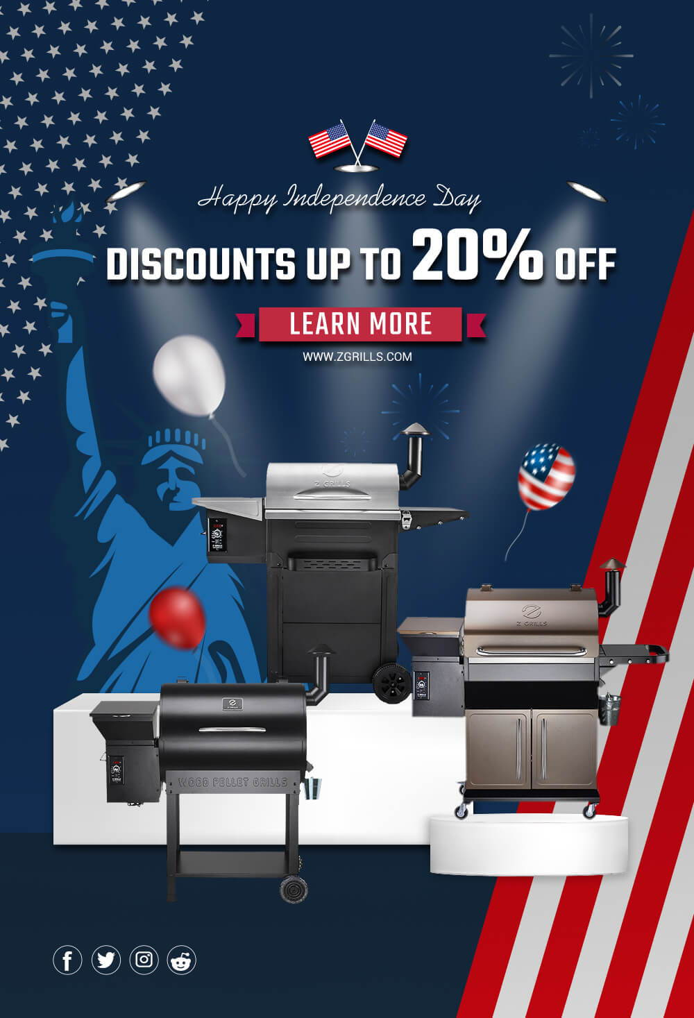 Z Grills 4TH OF JULY SALES 2020
