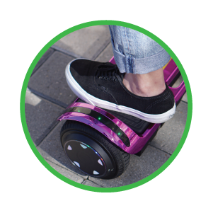 Led Lighting Feature - SUNL Flat Hoverboard