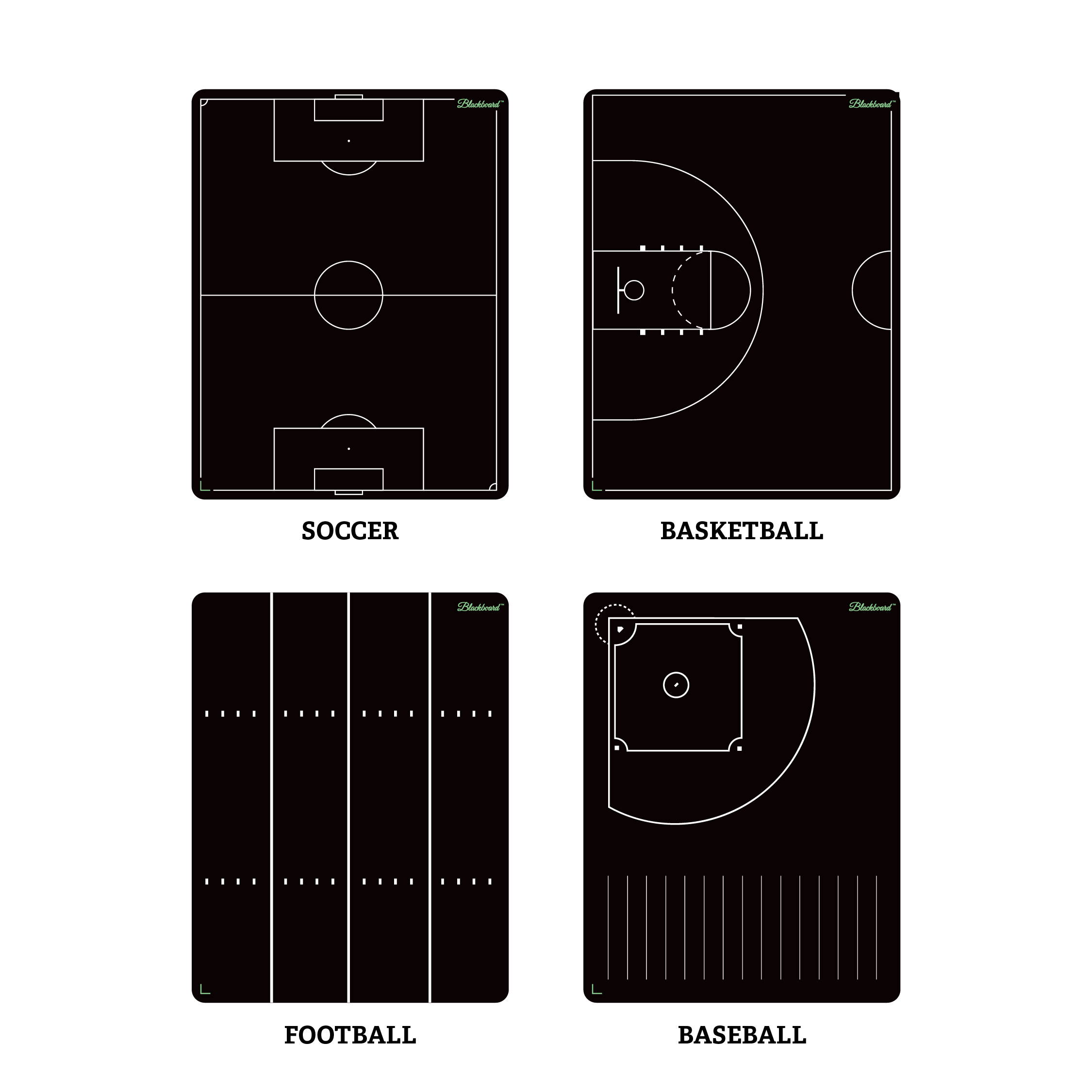 Boogie Board Coaching Templates Soccer Basketball Football Baseball