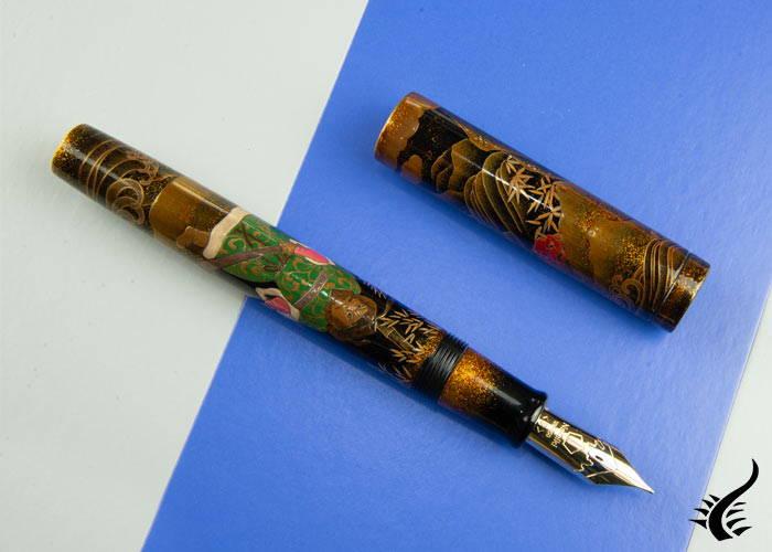 Namiki Emperor Shoki Fountain Pen, Ebonite, Black, Limited Ed, NNL-SHOKI