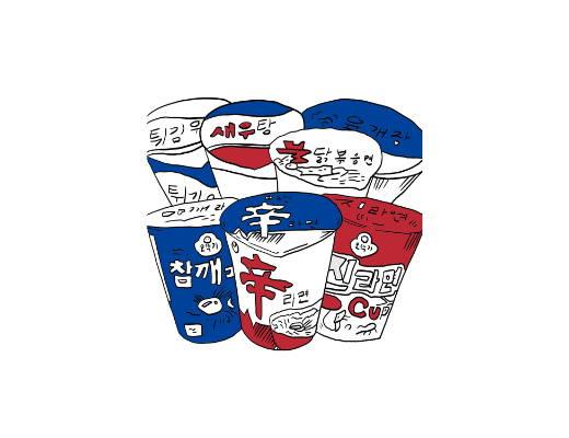 korean cup noodles ramen