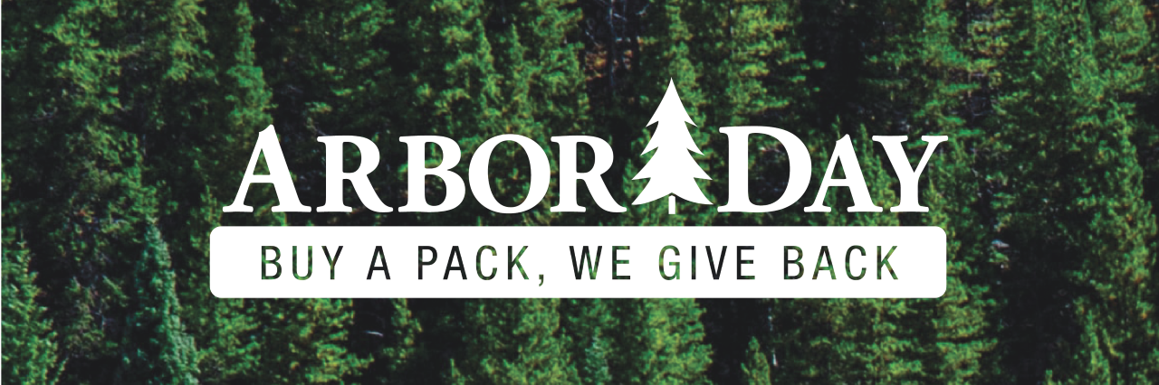 Duluth Pack Arbor Day Buy A Pack, We Give Back