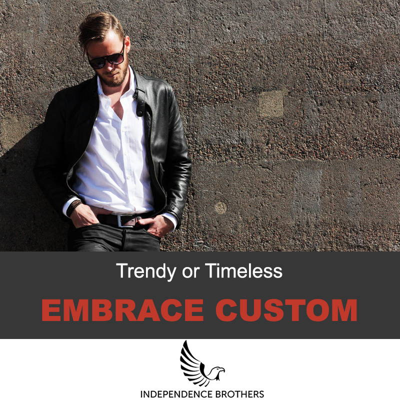 Embrace custom jackets