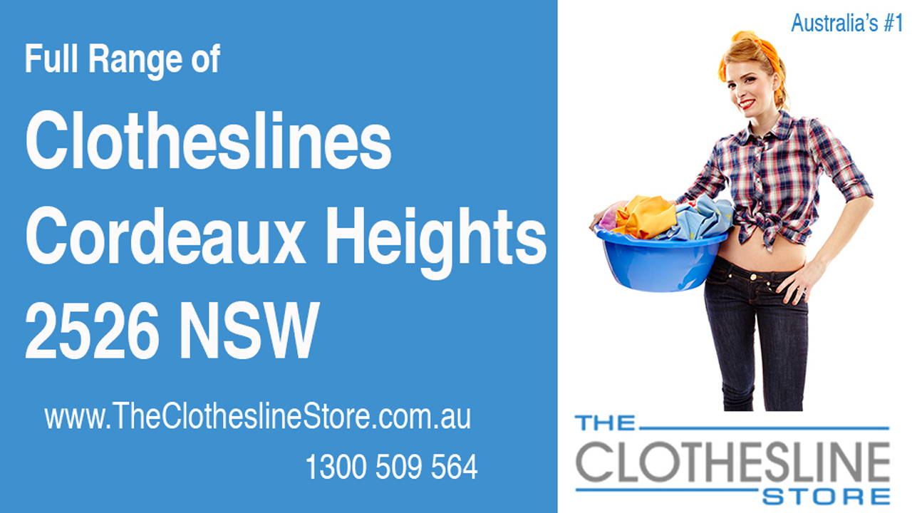 New Clotheslines in Cordeaux Heights 2526 NSW