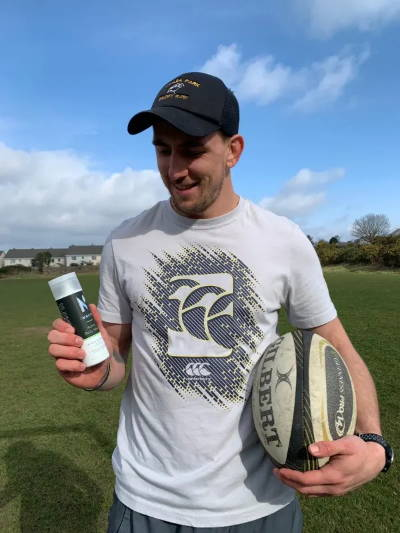 John Porch of Connacht Rugby working with Nuasan Active Skin & Bodycare which is natural skin and bodycare for sports and active people. Trusted by athletes, loved by everyone.