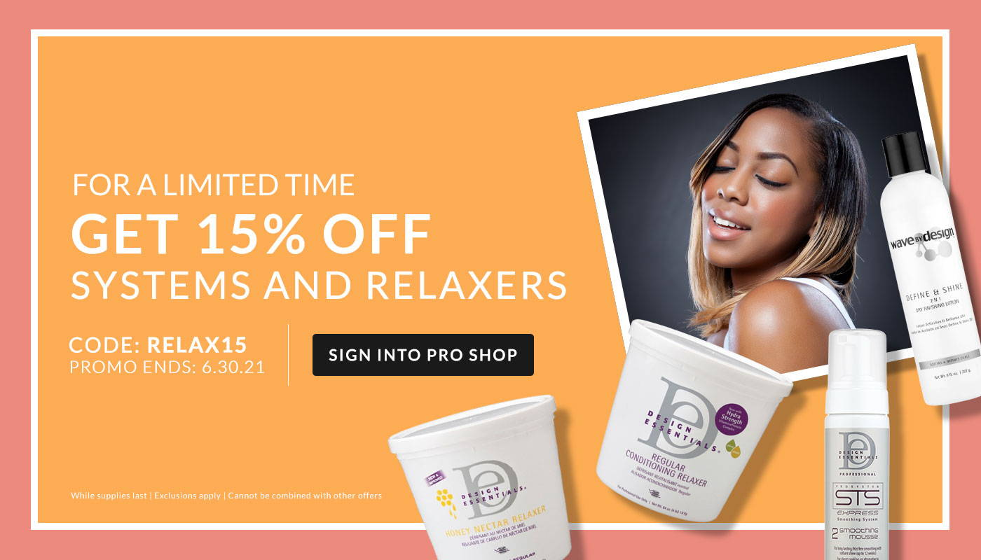 Sign in to shop Systems & Relaxer sale!