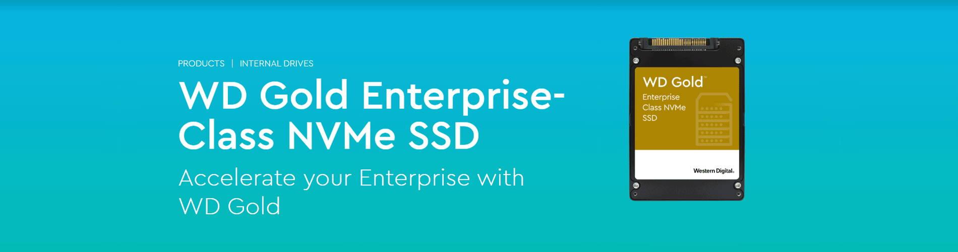WD Gold Enterprise-Class NVMe SSD