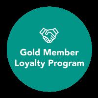 Gold Member Loyalty Program
