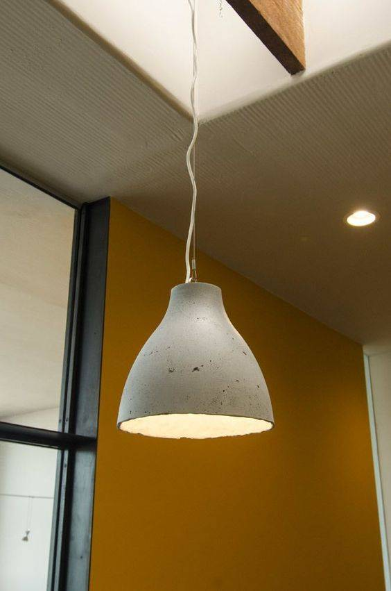 16 Diy Concrete Lamp Tutorials I Like That Lamp