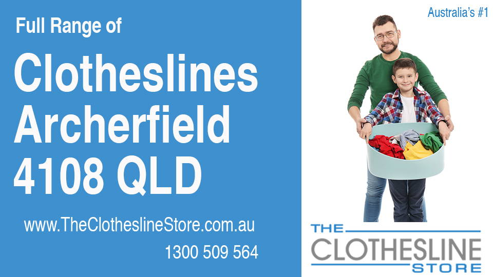 New Clotheslines in Archerfield Queensland 4108