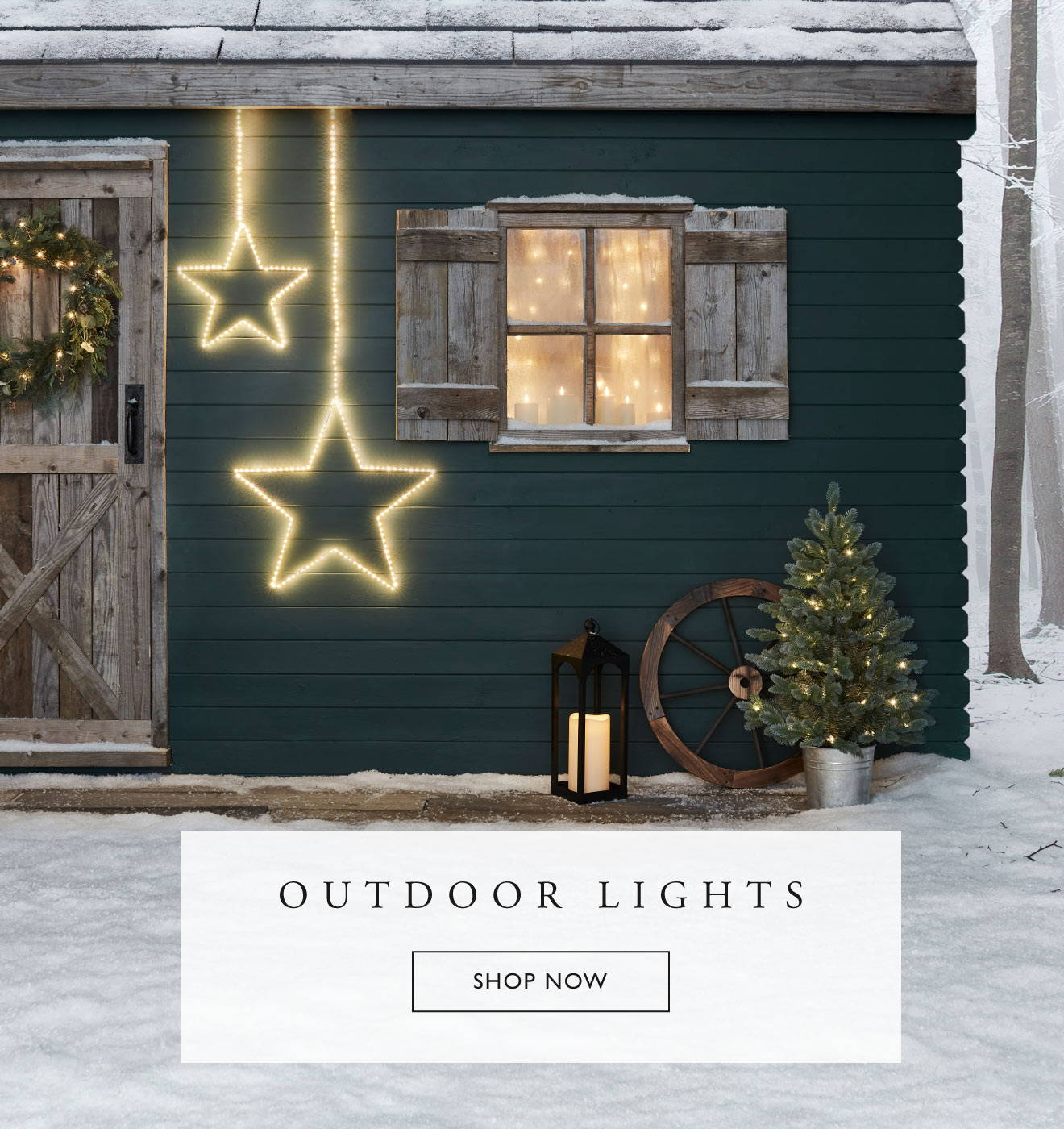 Outdoor Christmas Lights Lights4fun Co Uk