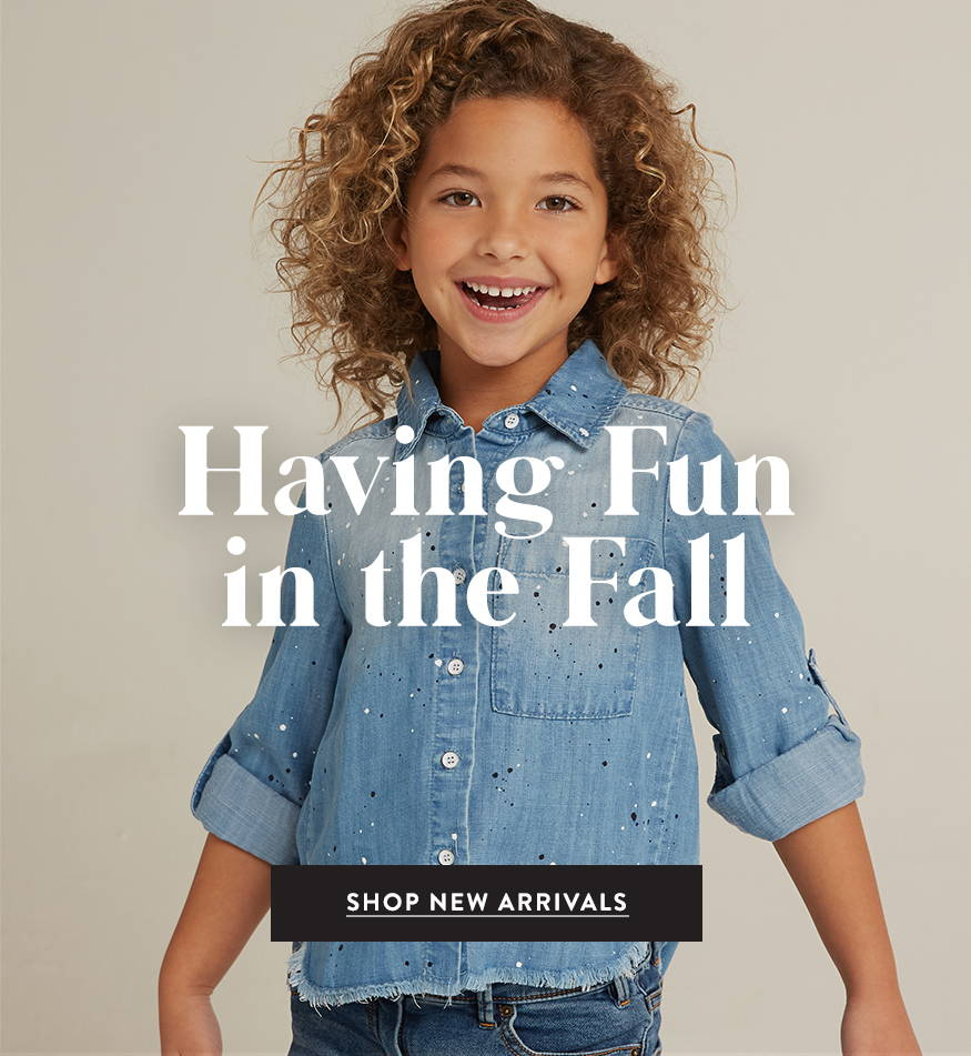 Having Fun in the Fall. Shop New Arrivals.