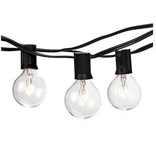 AUTHENTEAK PARTY OUTDOOR STRING LIGHTS