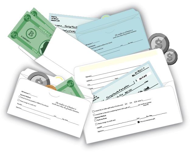 Tithe Envelopes for Church Giving