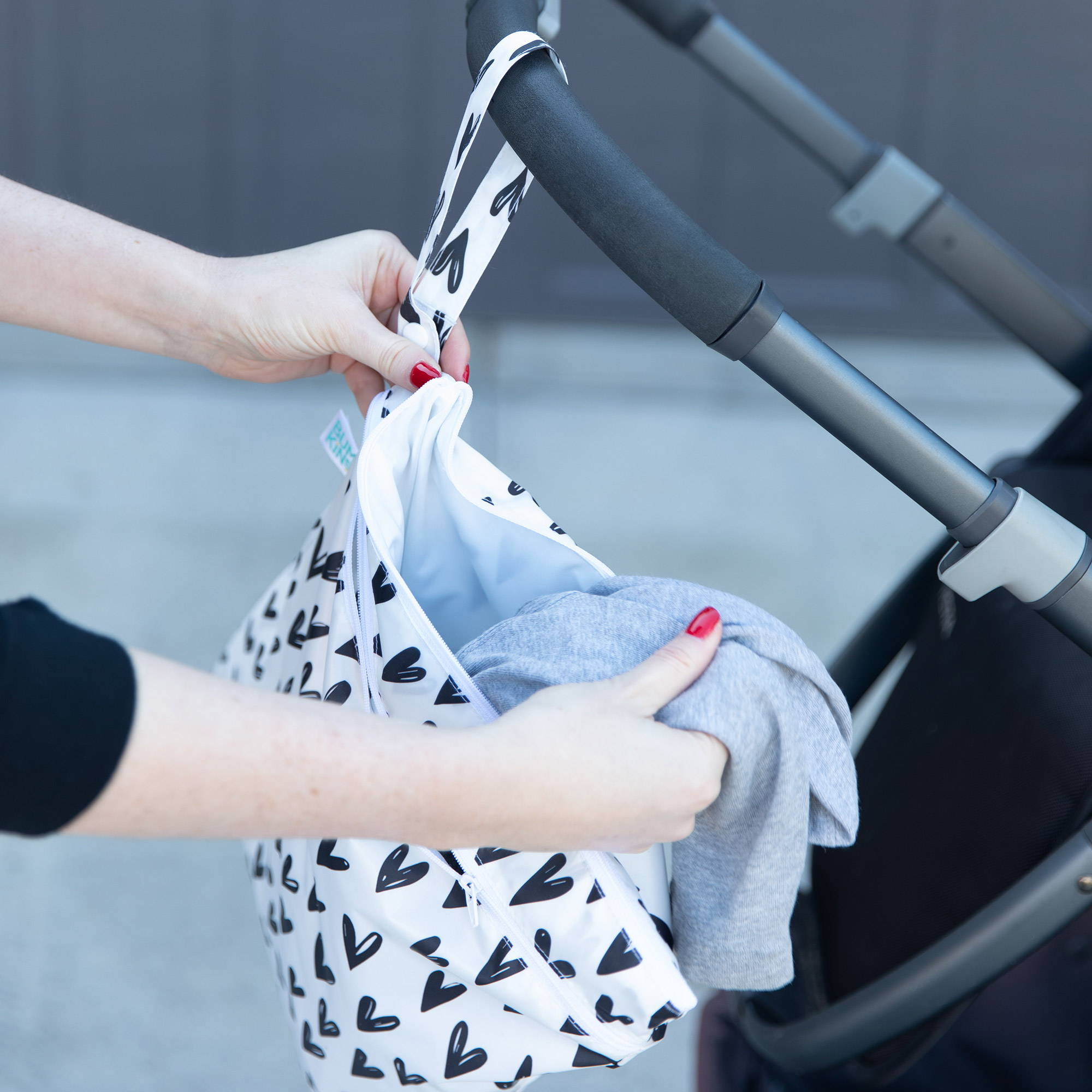 waterproof bags for cloth diaper storage and dirty gym clothes