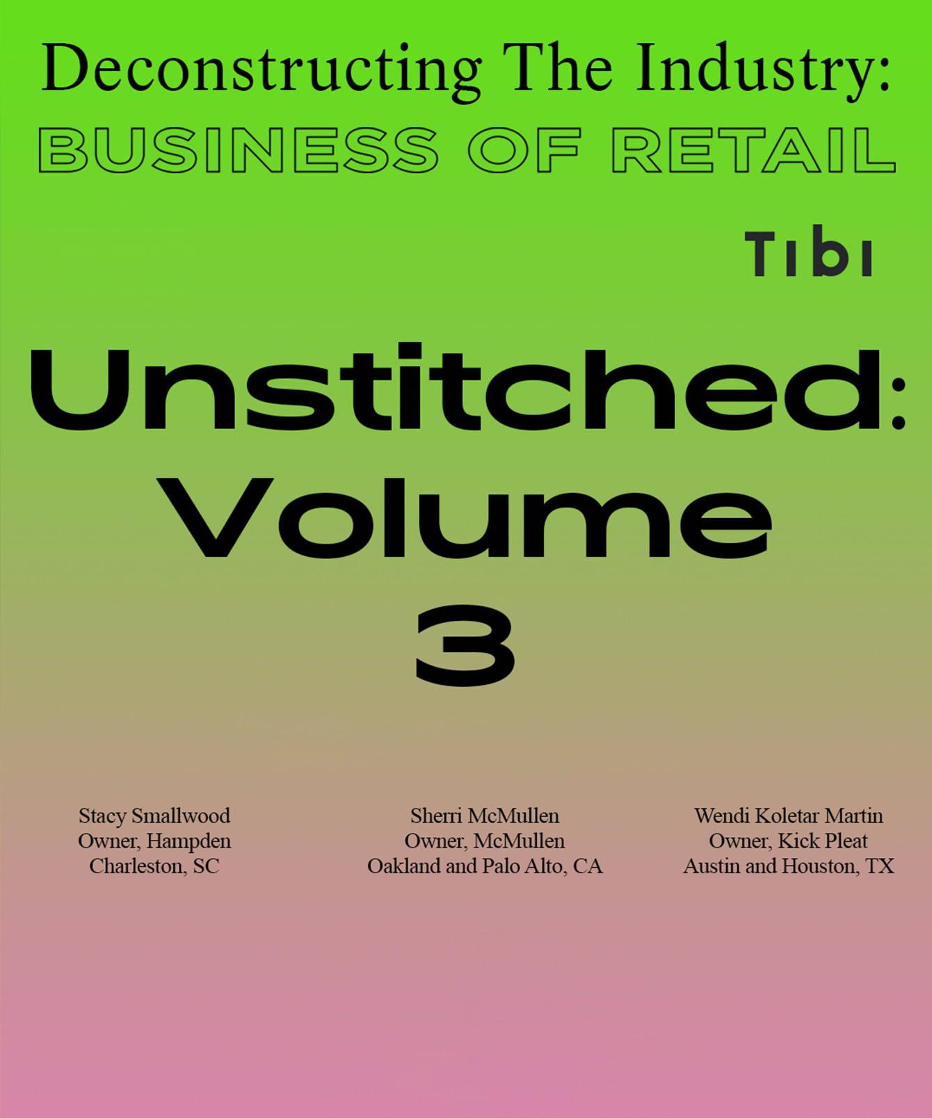 Unstitched: Volume 3 editorial