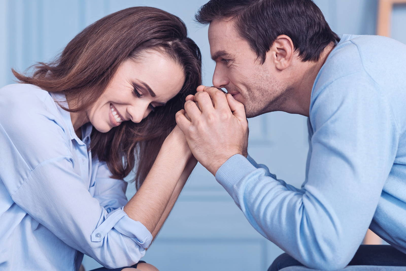 couple re-connected having fun time together
