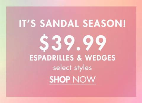 It's Sandals Season