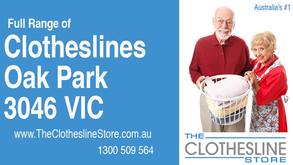 New Clotheslines in Oak Park Victoria 3046