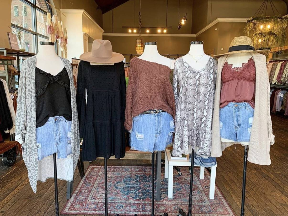 spring styles at dress up woodstock