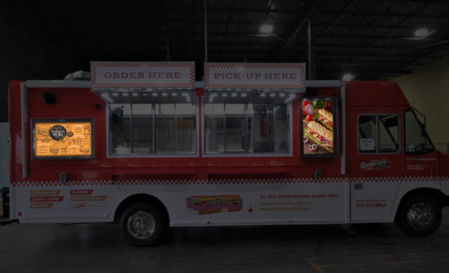 Food Truck Digital Signage Integration The Display Shield