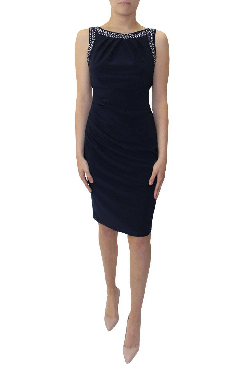Lula Dress - Midnight | Joseph Ribkoff Wardrobe Fashion