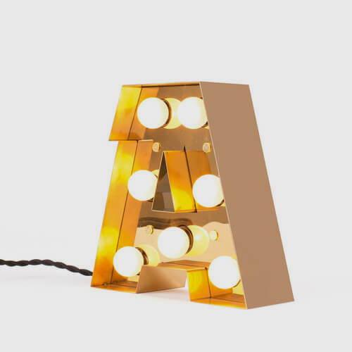 Seletti Caractere Alphabet Lamp