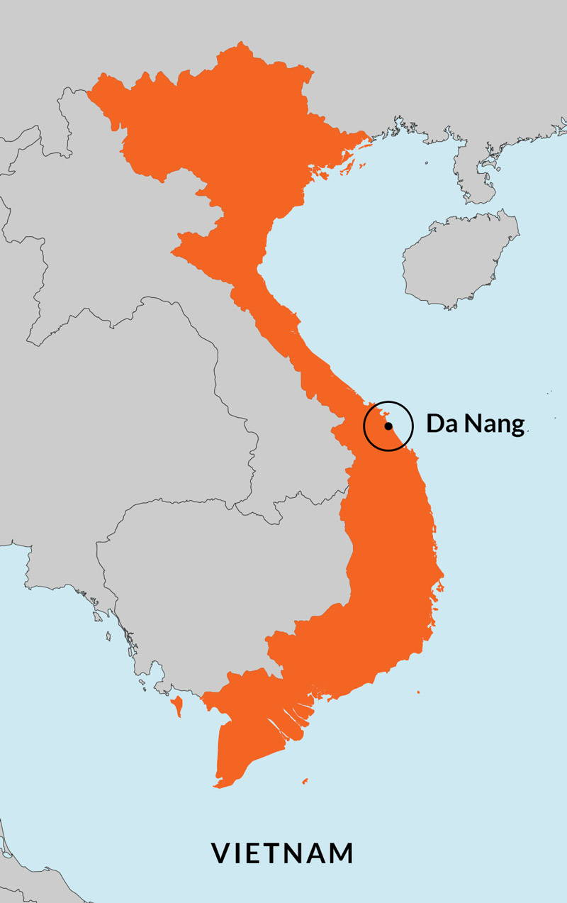 Travelbay Vietnam Tours - 6 Day Luxury Spa Pamper Map
