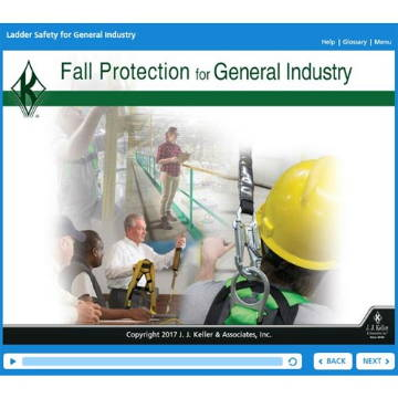Fall Protection for General Industry Online Course