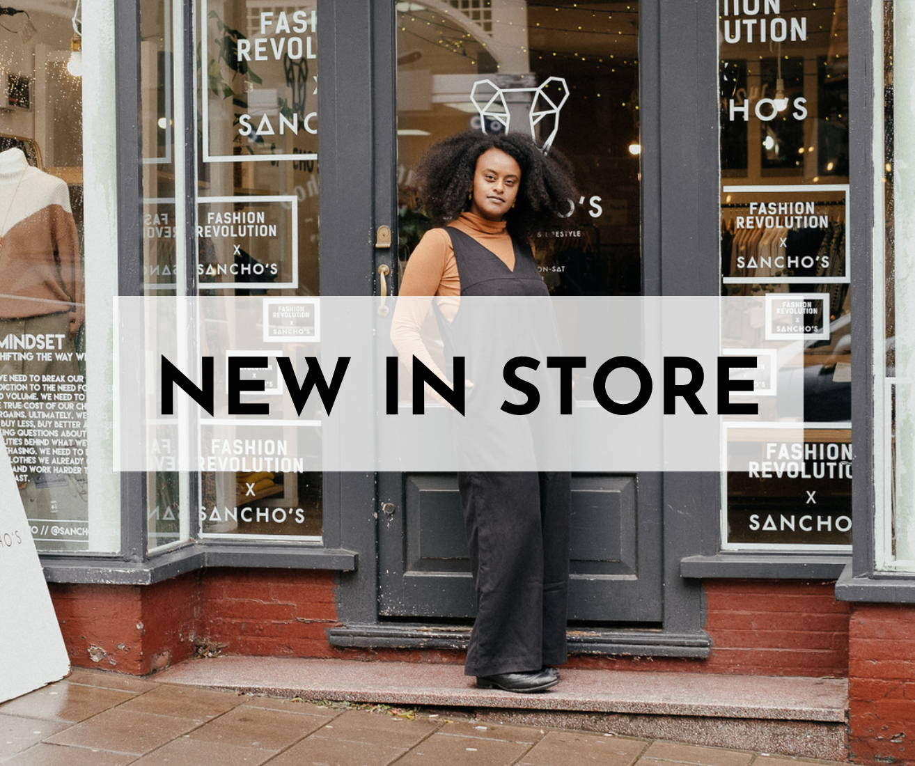 New in store at Sancho's, a sustainable fashion shop based in Exeter, UK