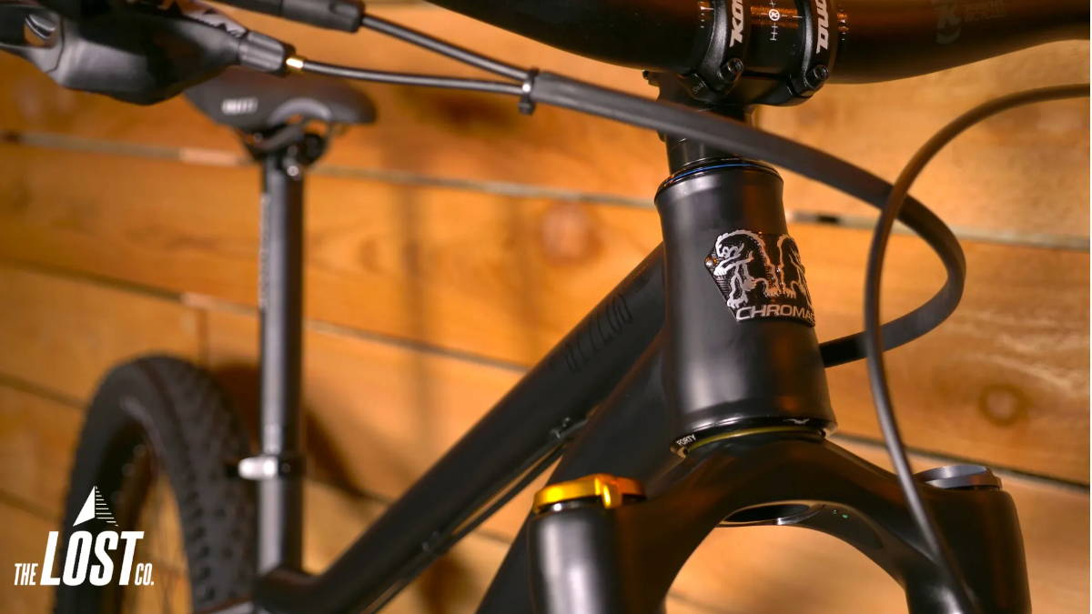 2019 Chromag Stylus mountain bike black head badge