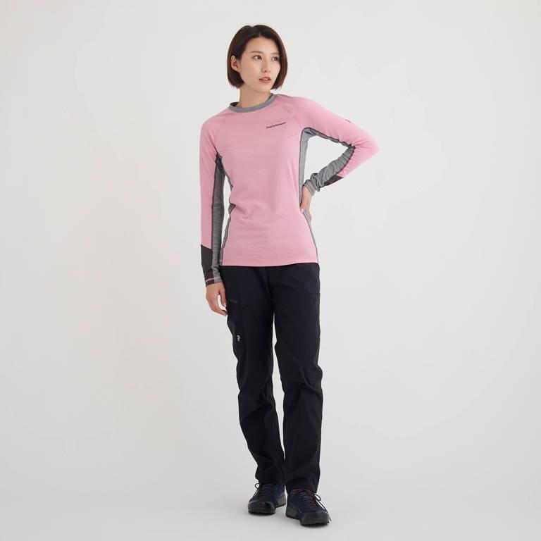 PeakPerformance(ピークパフォーマンス)/マジッククルー/ピンク/WOMENS