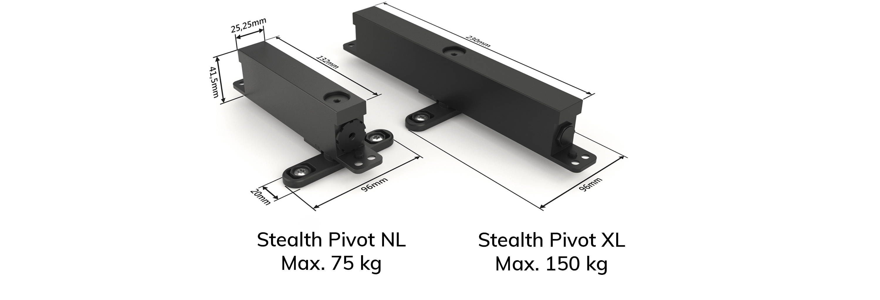 Self-closing pivot hinge systems