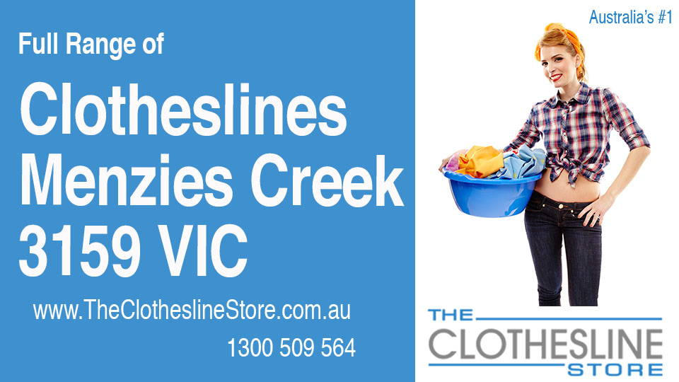 New Clotheslines in Menzies Creek Victoria 3159