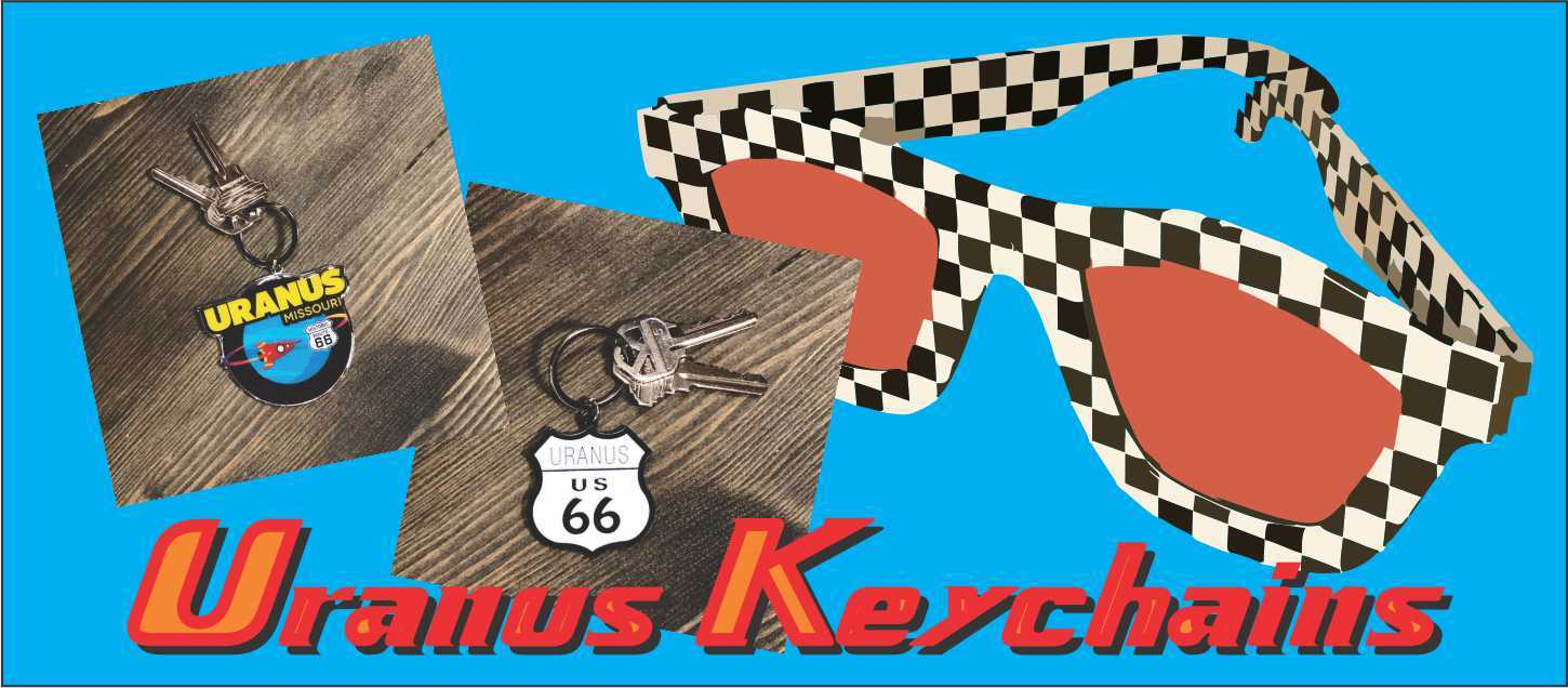 Key Chain Uranus Missouri