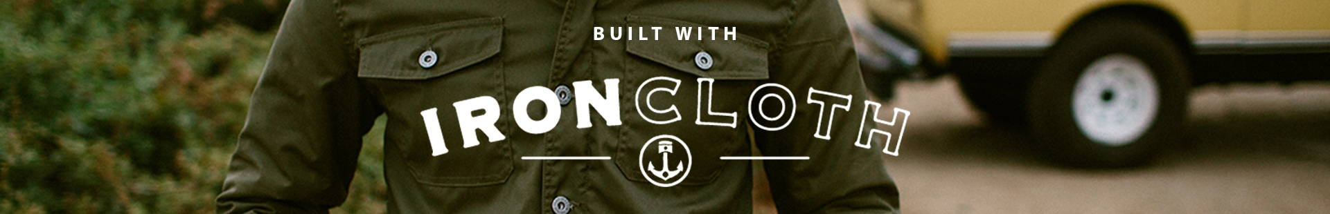 Built With Iron Cloth Collection Landing Page Image
