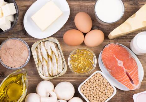 Alimenti con la vitamina D