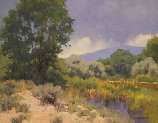 PPlein Air Fiesta. Juried Exhibition. Santa Fe Art Show. Sorrel Sky Gallery. Santa Fe Art gallery. Durango Art Gallery.