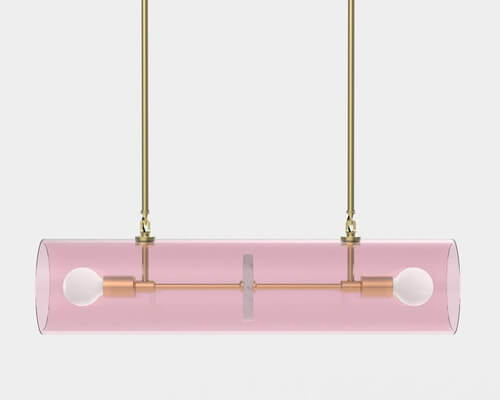 Iacoli and McAllister Nunki No. 4 Linear Pendant Light
