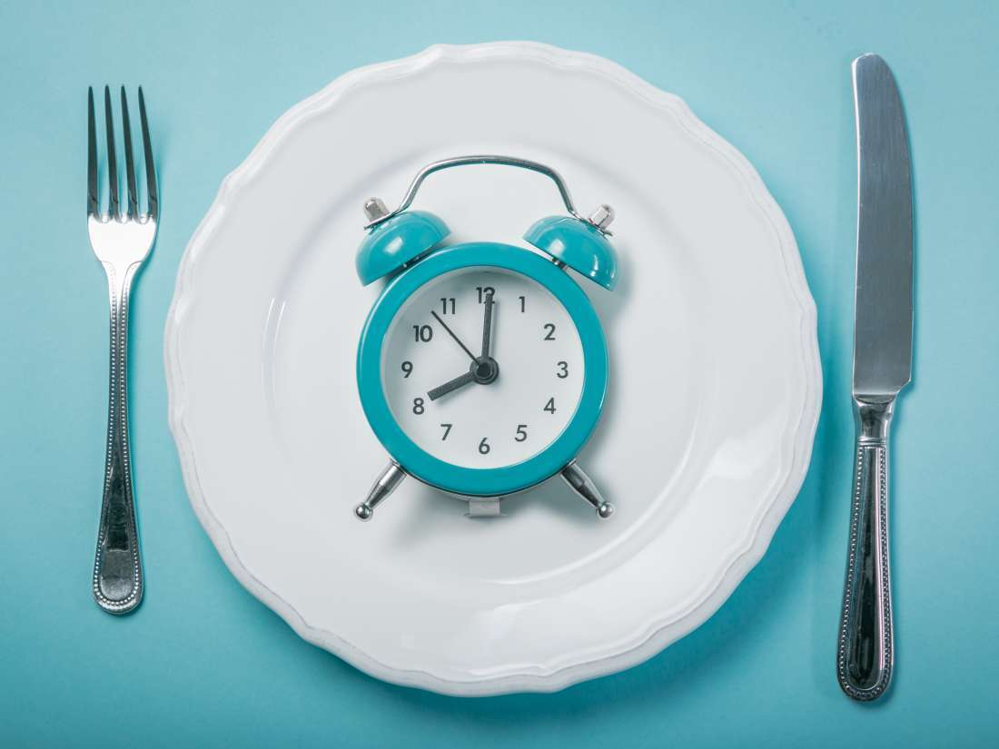 Image of an alarm clock on a plate.