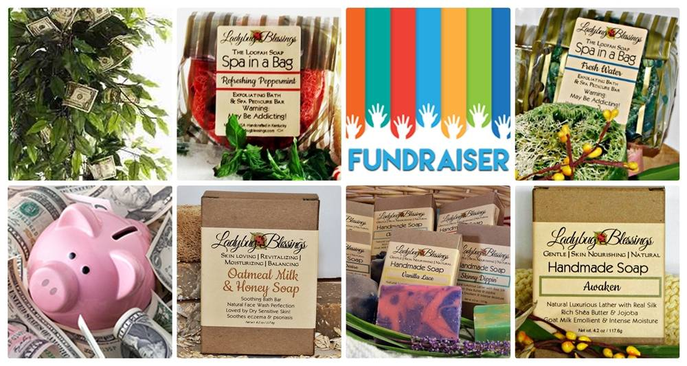 Soap Fundraiser, soap fundraising with natural soap, soap fundraiser
