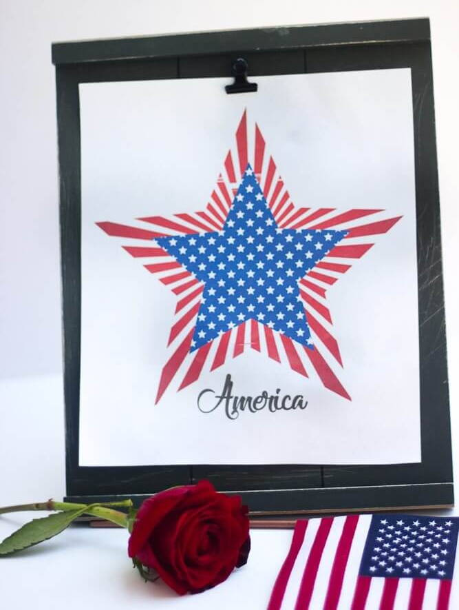 american star 4th of july quote printable