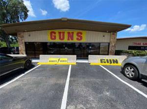 gun shop store front